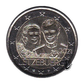 Lussemburgo - 2021 - 2€ Matrimonio