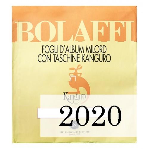 Fogli Vaticano 2020 - Bolaffi