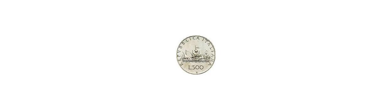 Filatelia Dabbene: Monete 500 Lire Caravelle